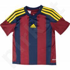 Marškinėliai futbolui Adidas Striped 15 Junior S16141