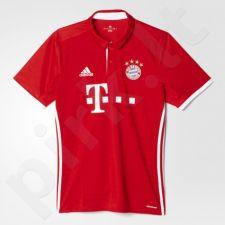 Marškinėliai futbolui Adidas  FC Bayern Munchen Home Replica 2016/17 M AI0049