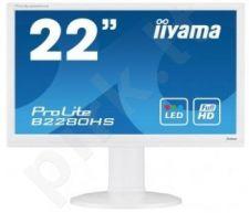 Monitor Iiyama B2280HS-W1 21.5'' LED Full HD, HAS, HDMI, DVI, Speakers, white