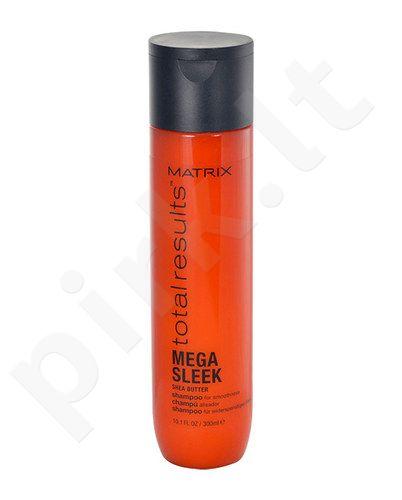 Matrix Total Results Mega Sleek Shea Butter šampūnas, kosmetika moterims, 300ml