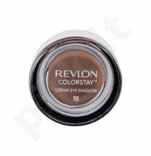 Revlon Colorstay, akių šešėliai moterims, 5,2g, (715 Espresso)