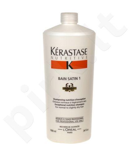 Kerastase Nutritive Bain Satin 1 Irisome Normal to Dry Hair, 1000ml, šampūnas