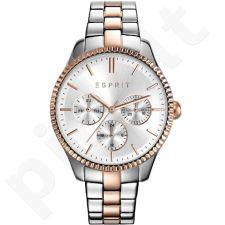 Esprit ES108942005 Spžiedas Silver Rose Gold moteriškas laikrodis