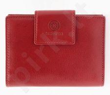 KRENIG Classic 12013 raudona piniginė iš natūralios odos, moterims