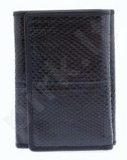 KRENIG Snake 23063 - IŠSKIRTINĖ juoda piniginė, moterims