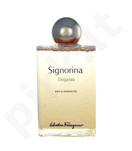 Salvatore Ferragamo Signorina Eleganza, dušo želė moterims, 200ml