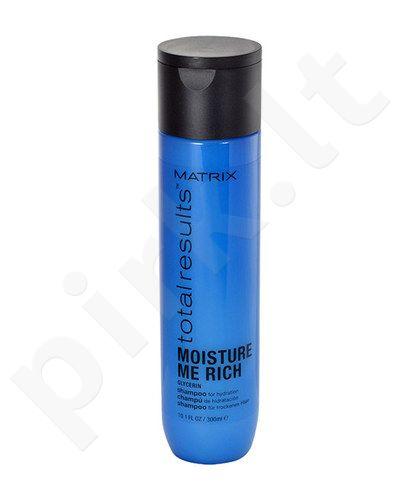 Matrix Total Results Moisture Me Rich šampūnas, kosmetika moterims, 300ml