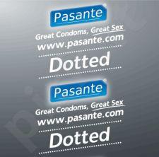 Taškuoti prezervatyvai Pasante