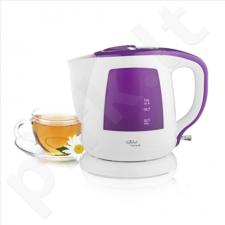 Gallet Kettle Marival GALBOU108WP Standard kettle, Plastic, White, 2200 W, 360° rotational base, 1 L