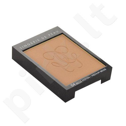 Guerlain Lingerie De Peau Nude kompaktinė pudra, kosmetika moterims, 10g, (testeris), (04 Medium Beige)