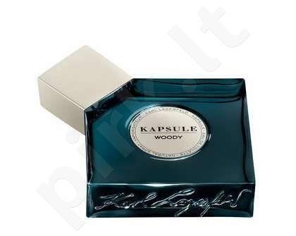 Karl Lagerfeld Kapsule Woody, tualetinis vanduo moterims ir vyrams, 30ml
