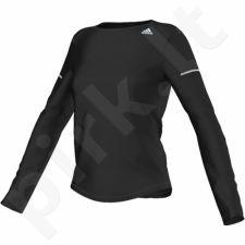 Marškinėliai bėgimui  Adidas Sequencials CC Run LS Tee W AA5106