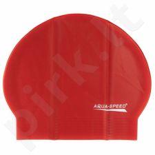 Maudymosi kepuraitė  Aqua-Speed Soft Latex raudonas