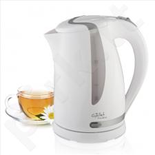 Gallet Kettle Moulins GALBOU743WG Standard kettle, Plastic, White, 2200 W, 360° rotational base, 1.7 L
