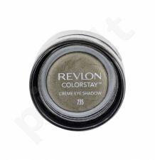 Revlon Colorstay, akių šešėliai moterims, 5,2g, (735 Pistachio)