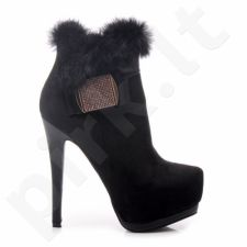 Aukštakulniai auliniai batai BELLE WOMEN 99307B /S1-83P