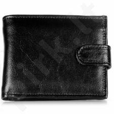 P153 juoda odinė piniginė , vyrams