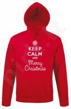 "Džemperis ""Keep calm Merry Christmas"""