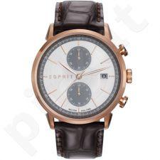 Esprit ES109181002 Brown vyriškas laikrodis-chronometras