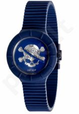 Laikrodis HIP HOP - SKULL Navy & Silver  HWU0466