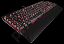 Žaidimų klaviatūra Corsair Mechanical K70 RAPIDFIRE  - Cherry MX Speed (NA)