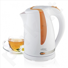 Gallet Kettle Moulins GALBOU743WO Standard kettle, Plastic, White, 2200 W, 360° rotational base, 1.7 L