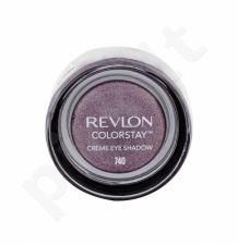 Revlon Colorstay, akių šešėliai moterims, 5,2g, (740 Black Currant)