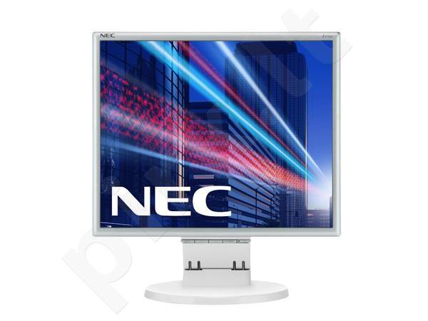 Monitorius NEC MultiSync E171M 17'' 5ms, DVI, Garsiakl., Baltas