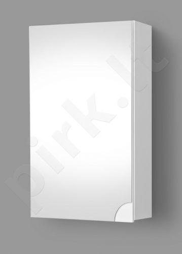 Pakabinama vonios spintelė su veidrodine durele Riva SV 41-8