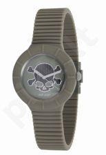Laikrodis HIP HOP - SKULL  Green & Black  HWU0467