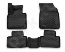 Guminiai kilimėliai 3D VOLVO XC90, 2015->, 4 pcs. /L64002
