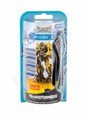Wilkinson Sword Transformers, Hydro 3, rinkinys skutimosi peiliukai vyrams, (Shaver with Single Head 1 pc + Spare Heads 4 pcs)