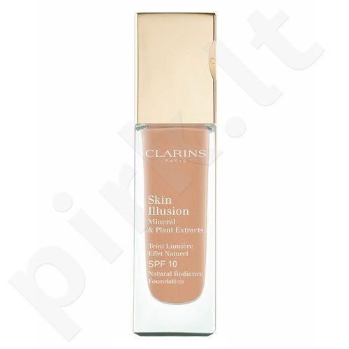 Clarins Skin Illusion Foundation SPF10, kosmetika moterims, 30ml, (107 Beige)