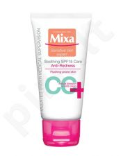 Mixa Soothing CC Anti-Redness kremas SPF15, kosmetika moterims, 50ml