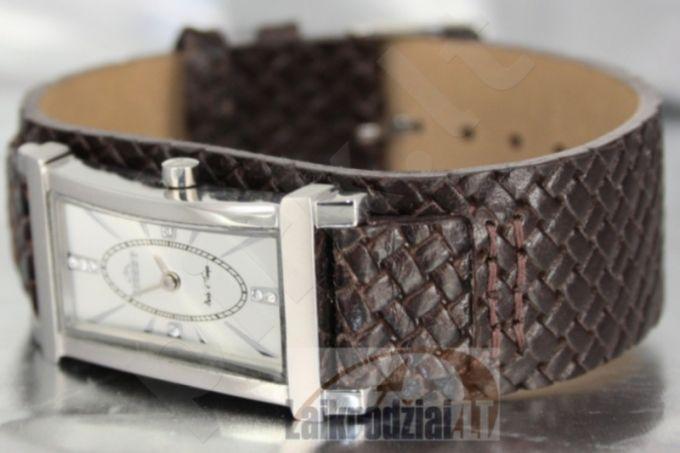 Moteriškas laikrodis BISSET Crime BS25B39 LS WH BR