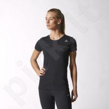Marškinėliai treniruotėms Adidas Infinite Series Prime Tee Dry Dye W S16135