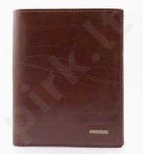 KRENIG El Dorado 11040 - ruda odinė piniginė , vyrams