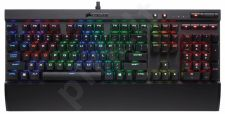 Corsair K70 LUX RGB Mechanical Gaming Keyboard - Cherry MX RGB Brown, EU