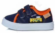 D.D. step tamsiai mėlyni batai 21-26 d. csb-112