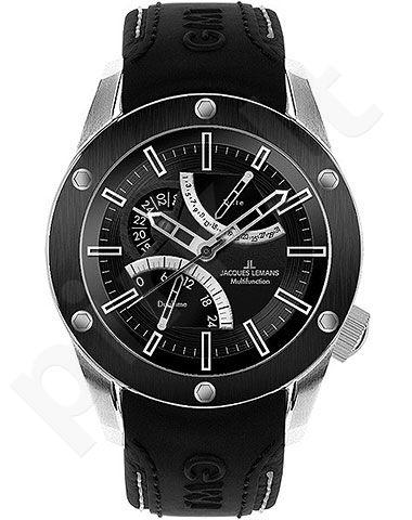 Vyriškas laikrodis Jacques Lemans Liverpool GMT 1-1634A