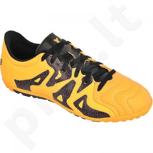 Futbolo bateliai Adidas  X 15.3 TF Jr Leather S74667