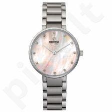 Moteriškas laikrodis Obaku V189LXCPSC