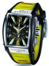 Laikrodis LOCMAN TREMILA OVERSIZE YELLOW 026000BKNYL5BKY