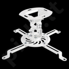 LOGILINK - Projector mount, arm length 150 mm, white
