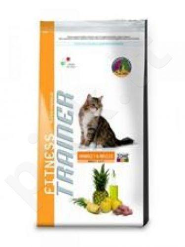 TRAINER FITNESS CAT ADULT RABIT & MAIZE (Suaugusiems su triušiena/kukurūzais)