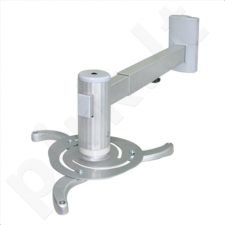 Sunne Universal Wall Projector Bracket, max.10kg, 48-66 cm, 360°, Wall to projector 48-660mm