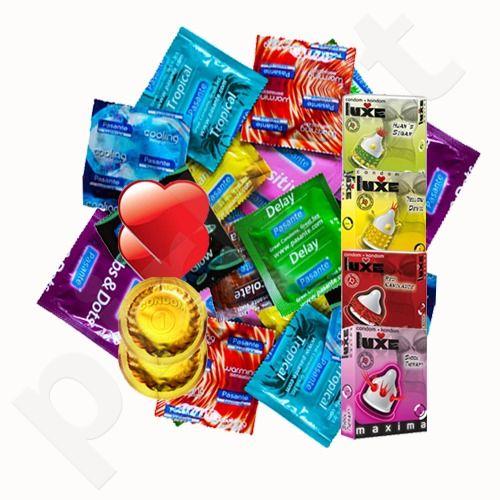 Šventinis prezervatyvų rinkinys