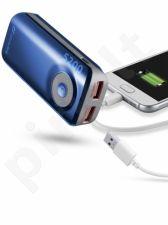 5200 mAh išorinė baterija FREEPOWER Cellular mėlyna