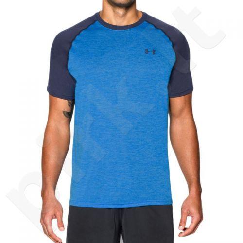Marškinėliai treniruotėms Under Armour Tech™ Short Sleeve T-Shirt M 1228539-433