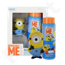 Minions Bath Squirter Kit rinkinys moterims, (250ml Bubble Bath + Bath Squirter)